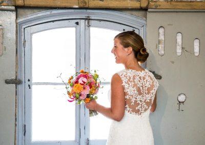 Bruidsbloemwerk bruiloft 1