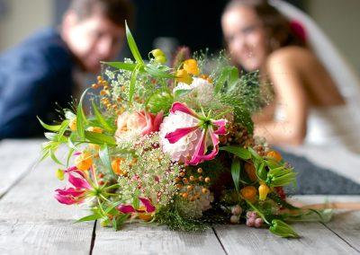 Bruidsbloemwerk bruiloft 5