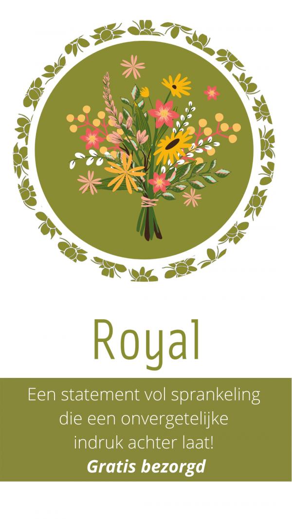 Online boeket bestellen Delft - Royal